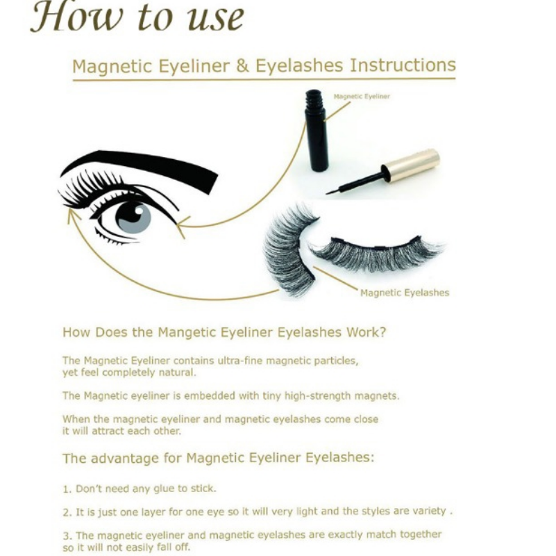How to use magnetic Eyeliner Eyelashes.png